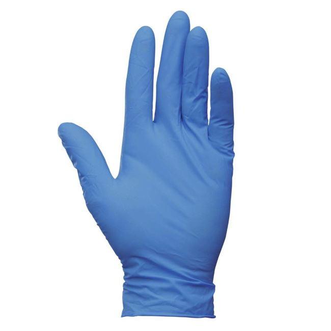 Перчатки нитриловые текстурированные